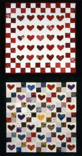 Hearts and Four-Patches