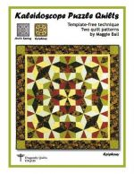 DFQ105 - Kaleidoscope Puzzle Quilts - Template-free technique