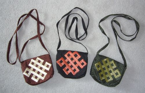 Silk Ölzii Long-Handled Bags - $20.00